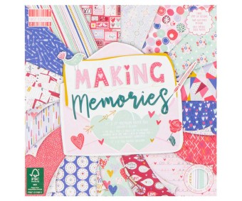 Motiivpaberid Dovecraft 30,5x30,5cm, 48 lehte - Making Memories