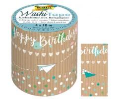 Washi teip Kraft Paper 4x 10m - Folia