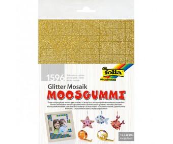 Vahtkumm Mosaiik glitter, iseliimuv, 10x10mm ruudud, 6 lehte pakis