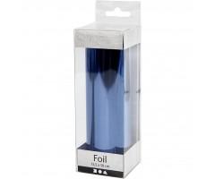 Foolium rullis dekoreerimiseks sinine, 15,5 cmx50 cm