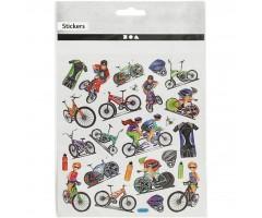 Kleepsud DECO - jalgrattad