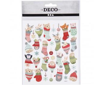 Kleepsud DECO - lõbusad jõulusokid