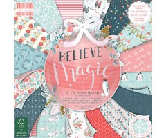 Motiivpaberid 30,5x30,5cm, 48 lehte - Believe Magic