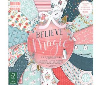 Motiivpaberid 30,5x30,5cm, 48 lehte - Believe Magic