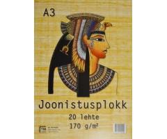 Joonistusplokk Egiptus - A3, 20 lehte