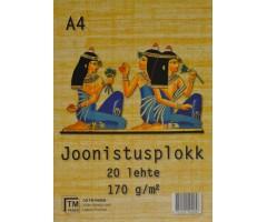 Joonistusplokk Egiptus - A4, 20 lehte