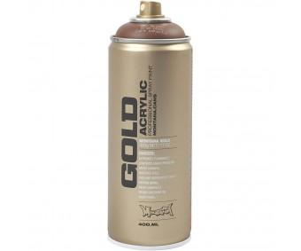 Aerosoolvärv Montana GOLD 400 ml - pruun