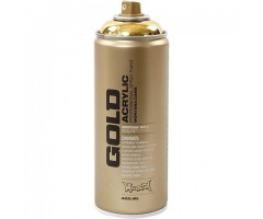 Aerosoolvärv Montana GOLD 400 ml - kuld (Goldchrome)
