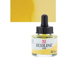 Akvarelltint Talens Ecoline, 30 ml - 259 liivakollane
