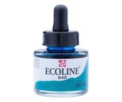Akvarelltint Talens Ecoline, 30 ml - 640 sinakasroheline