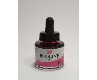 Akvarelltint Talens Ecoline, 30 ml - 361 heleroosa