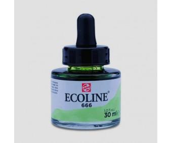 Akvarelltint Talens Ecoline, 30 ml - 666 pastellroheline