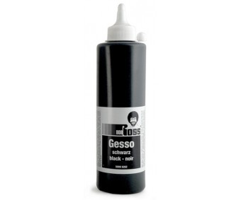 Kruntvärv Bob Ross Gesso 500ml - must