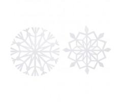 Lumehelbed paberist  100g/m², kaks motiivi, 16 tk pakis