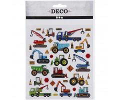 Kleepsud DECO - autod ja masinad