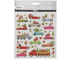 Kleepsud - Jõuluautod