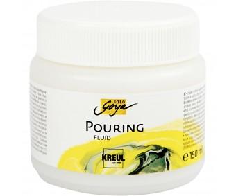 Maalimeedium akrüülvärvi vedeldamiseks (pouring fluid), 150 ml