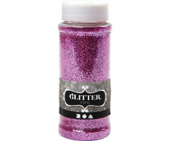 Glitterpuru 110g - roosa
