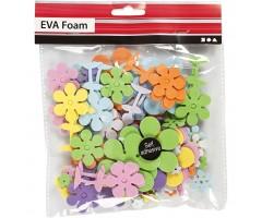 Vahtkummist kleebised 10–60mm, 100 tk - lilled