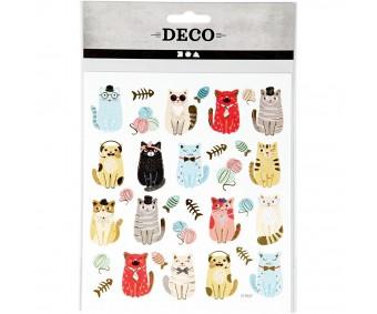 Kleepsud DECO - kassid