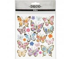 Kleepsud DECO - liblikad