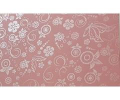 Disainpaber lillemustriga, roosa, A4 80g/m2, 20 l pakis