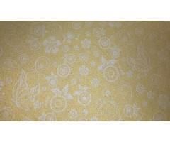 Disainpaber lillemustriga, kuldne, A4 80g/m2, 20 l pakis