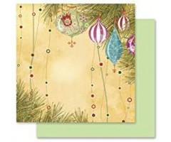 Motiivpaber Folia 30.5x30.5cm, 5 lehte - Jõulud 05