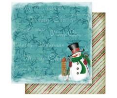Motiivpaber Folia 30.5x30.5cm, 5 lehte - Jõulud 12