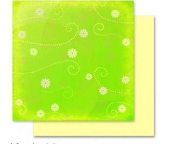 Motiivpaber Folia 30.5x30.5cm, 5 lehte - Lilled 09