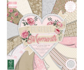 Motiivpaberid Dovecraft 20x20cm, 48 lehte - Perfect Moments
