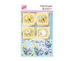 Disainpaberi lõiked Anita's - Yellow Birds