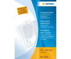 Dokumenditasku läbipaistev - 95x135mm