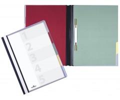 Kiirköitja Divisoflex A4 värviliste vahelehtedega - sinine