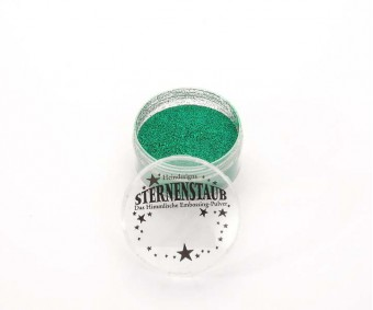 Embossing pulber Sternenstaub - Super Green, 14 ml