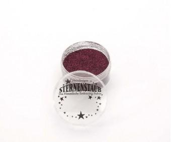 Embossing pulber Sternenstaub - Wine Red Glitter, 14 ml