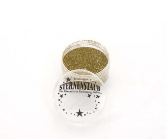 Embossing pulber Sternenstaub - Super Gold, 14 ml
