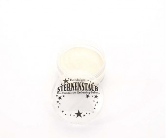 Embossing pulber Sternenstaub - White, 14 ml