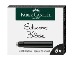 Tindiballonid Faber-Castell 6 tk - must