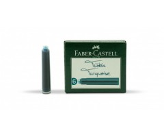 Tindiballonid Faber-Castell 6 tk - türkiis