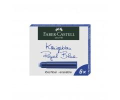 Tindiballonid Faber-Castell 6 tk - sinine, kustutatav