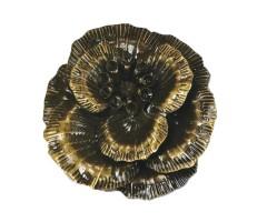 Filigraan 3D lill - pronks, 45mm