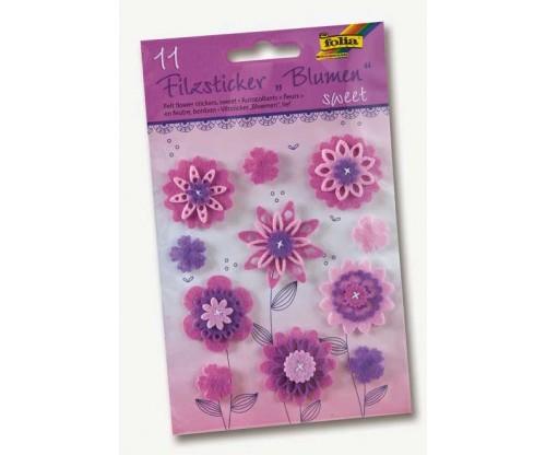 0724452c4da Vildist kleebised Folia - Lilled, roosa/lilla
