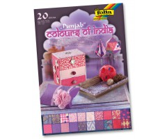 India paberite plokk Colours of India A4, 20 lehte - Punjab