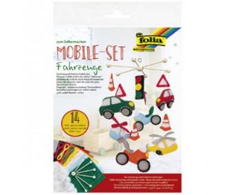 Meisterdamiskomplekt Folia Mobile Set - sõidukid