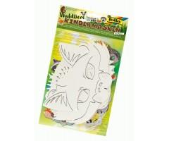 Kartongist maskid lastele, 6 tk - loomad