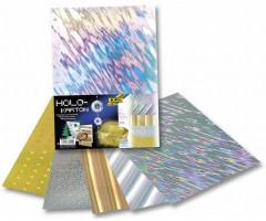 Kartong Hologramm 24x35cm, 230g/m², 5 lehte