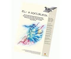 Õli- ja akrüülmaaliplokk Folia A3, 290g/², 10 lehte