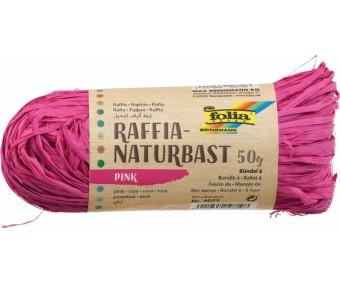 Paberpael (raffia) Folia, 50g - roosa
