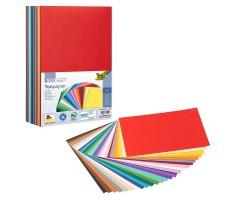 Joonistuspaber Folia A4 130g/m² - 100 lehte, 10 eri värvi